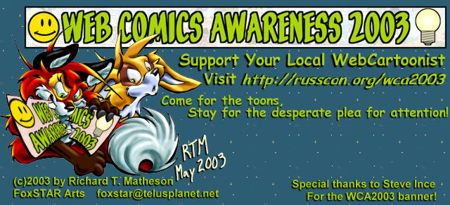Web Comics Awareness 2003